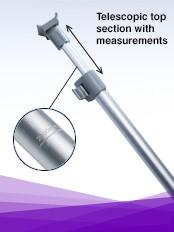 Teleskopstange für RollUp System Orient